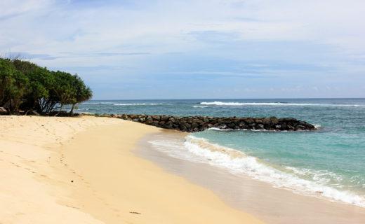 Пляж в районе Велигамы на Шри-Ланке