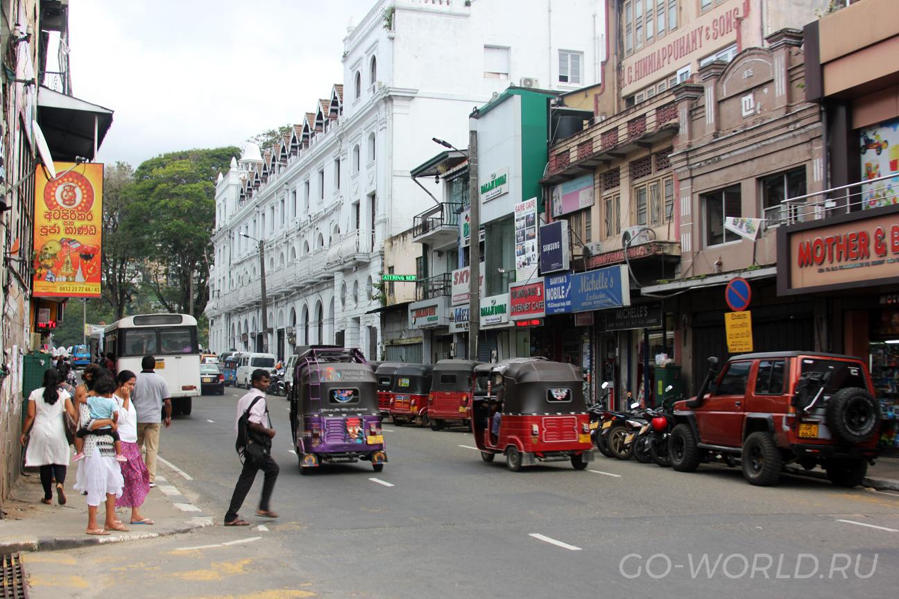 Центральный квартал в Канди