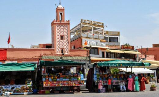 Фото улицы в Марракеше