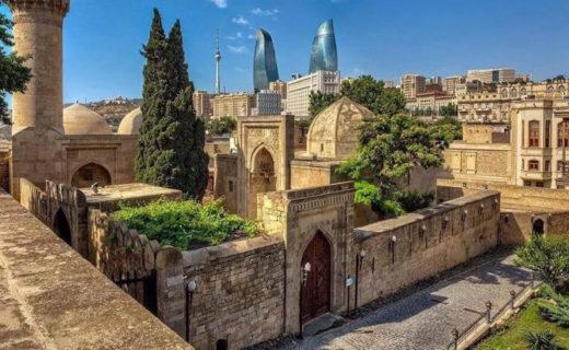 Фото и названия достопримечательностей в Баку