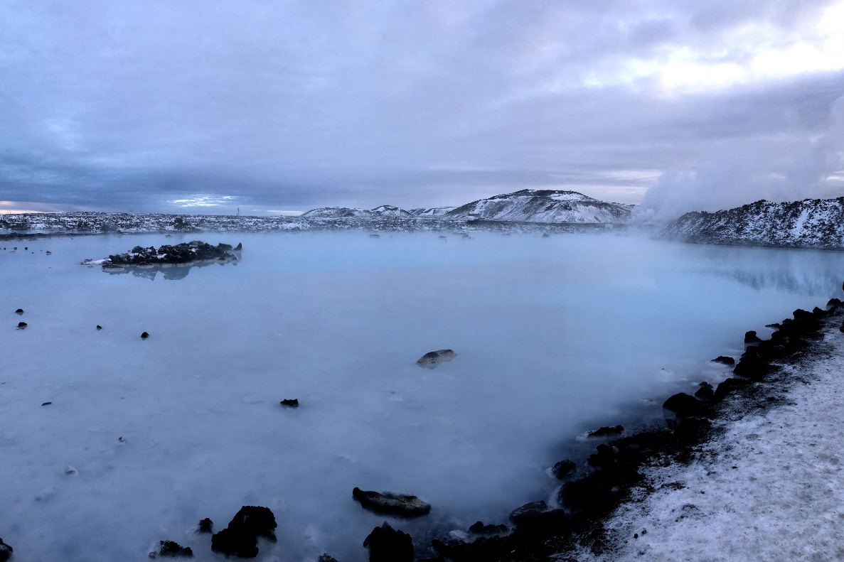 Фот Голубой Лагуны в Исландии