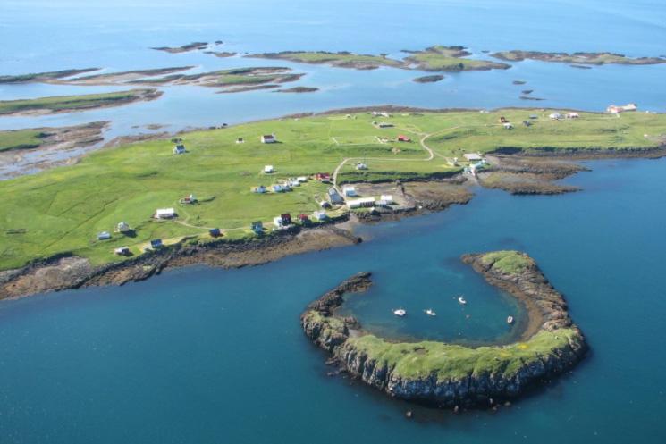 Остров Флатей
