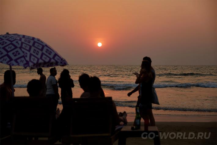 пляж Морджим Гоа отзывы