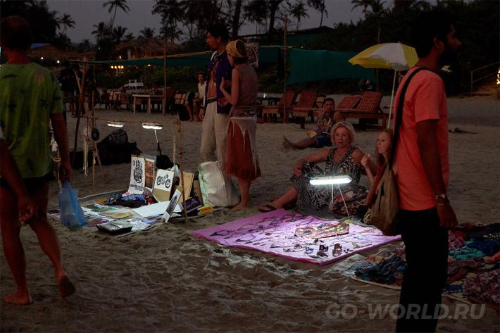 отзывы пляж Морджим Индия