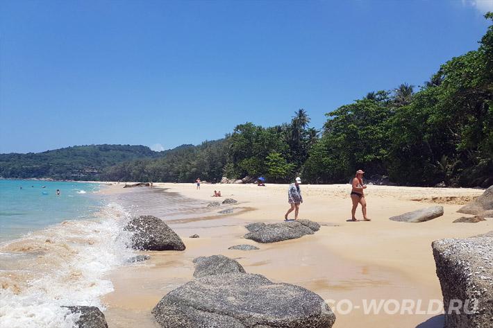 пляж Найтон Пхукет отзывы