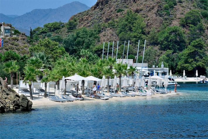 лучшие отели 5 звезд Мармарис первая береговая линия