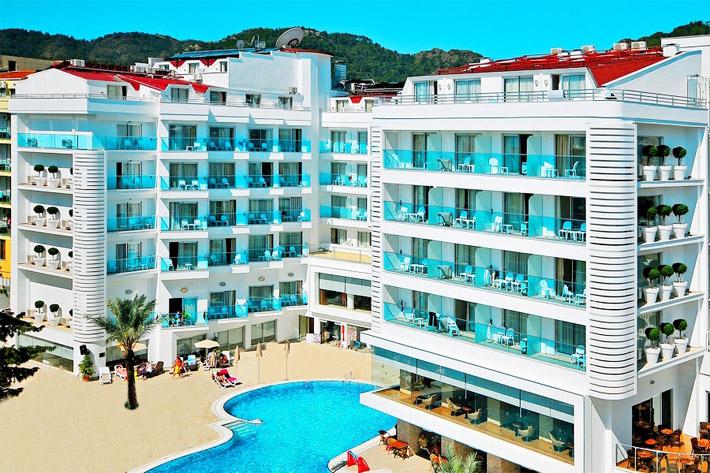 хорошие отели всё включено в Мармарисе Турция