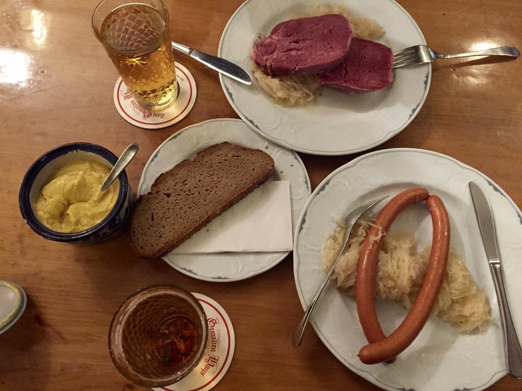 какая еда в Германии
