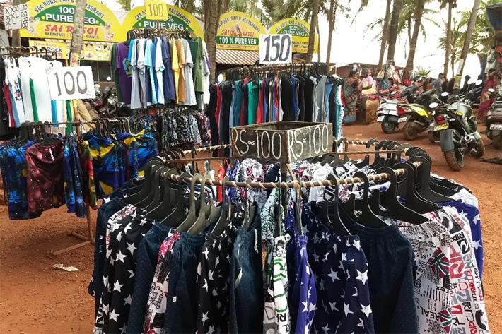 цены в Гоа на питание, транспорт и одежду