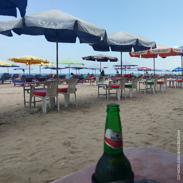 пляж кута бали фото