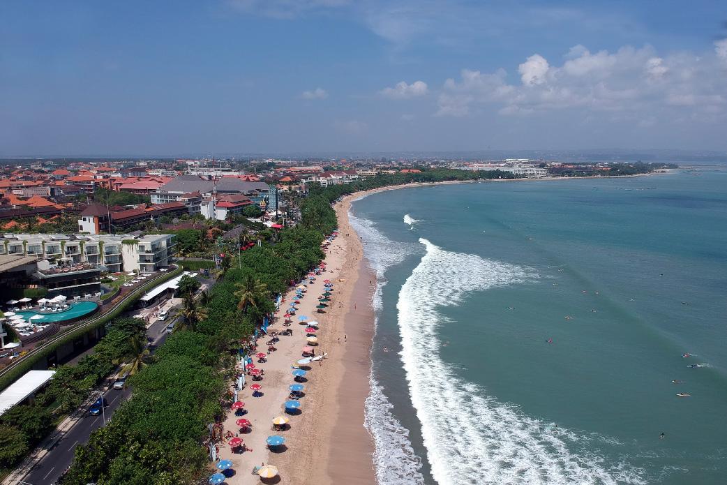 пляж Кута на Бали фото