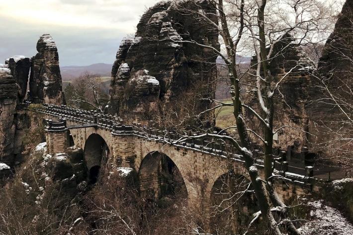 мост бастай германия