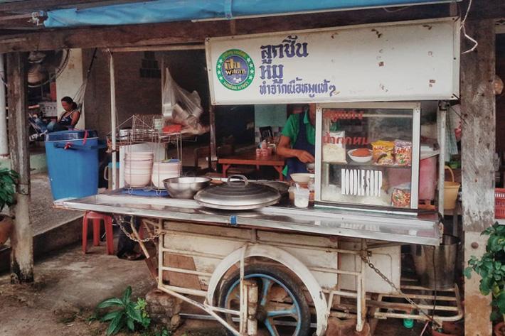 уличная еда в Тайланде