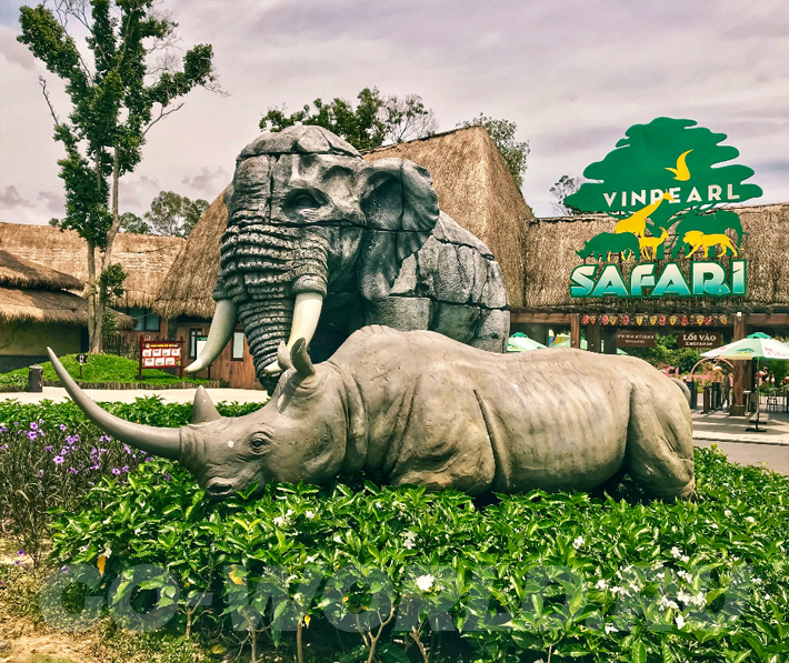 Сафари парк на Фукуоке - Вьетнам