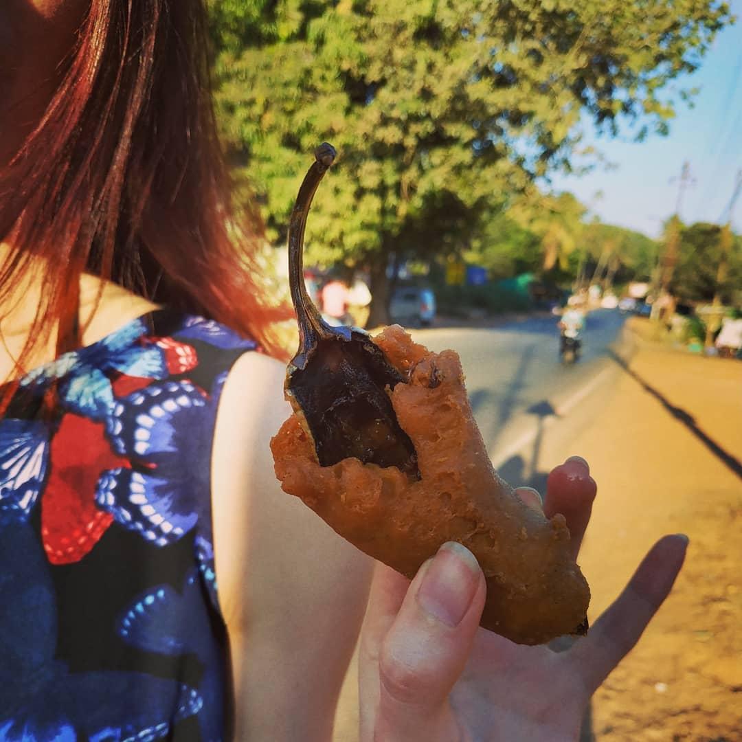 Уличная еда в Гоа