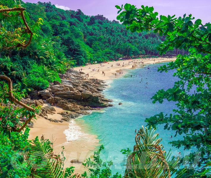 Пляж Фридом на Пхукете фото