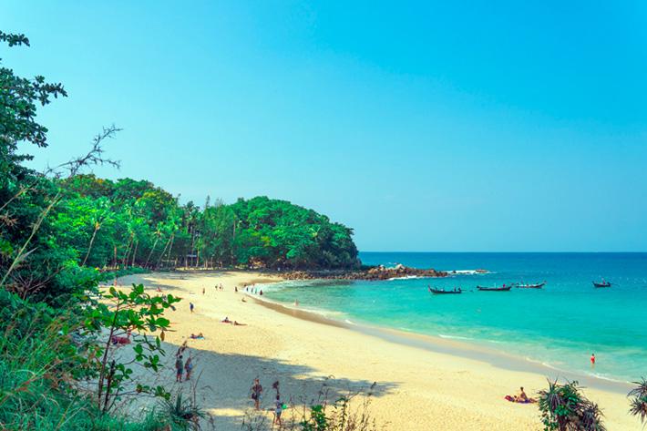 Пляж Фридом на Пхукете - Тайланд