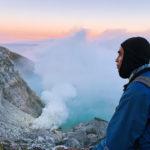 вулкан Иджен на Яве - Индонезия
