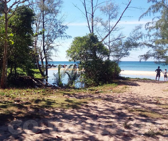 Пляж Куакан на Фукуоке