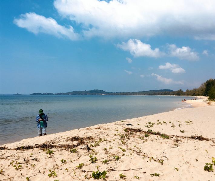 Пляж Куа Кан на Фукуоке - Вьетнам