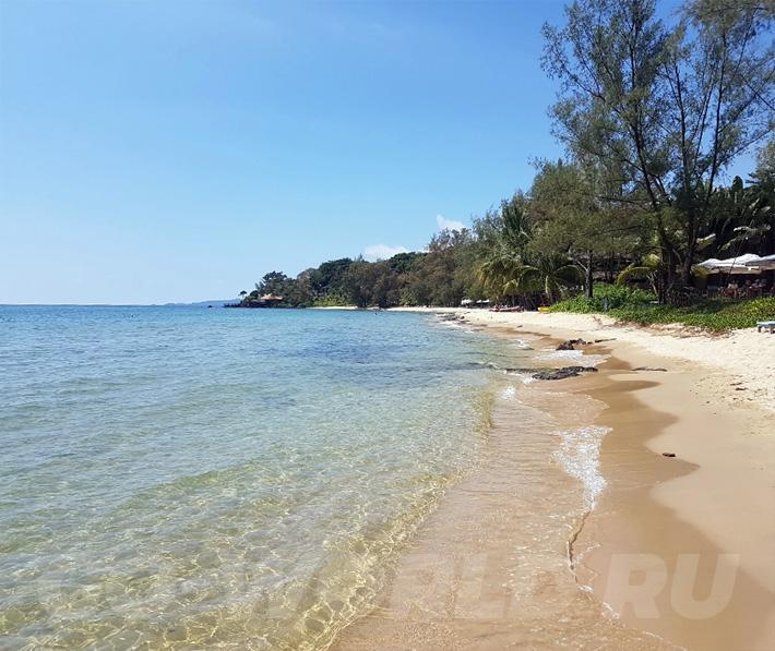 Вьетнам Фукуок пляж Онг Ланг