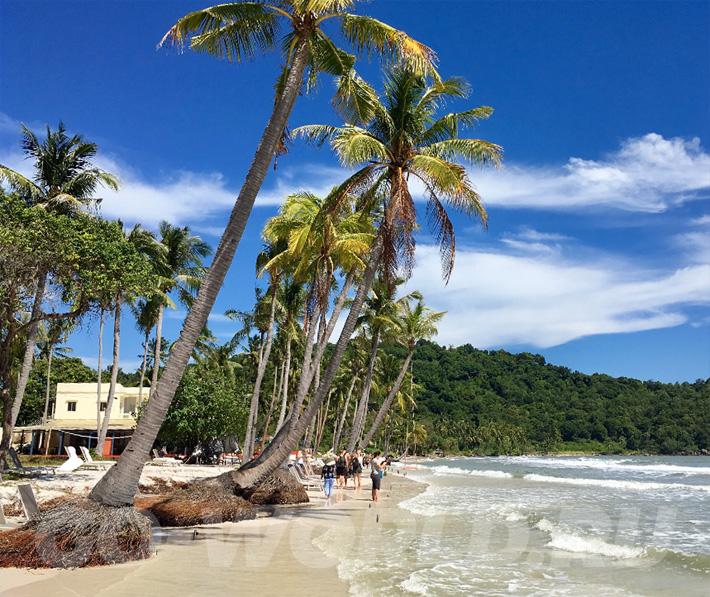 пляж бай сао фукуок отели