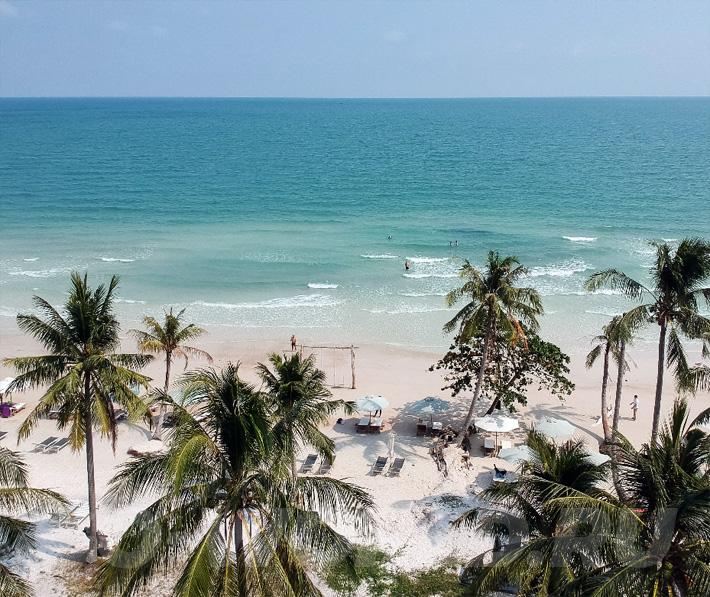 отели на пляже бай сао фукуок вьетнам