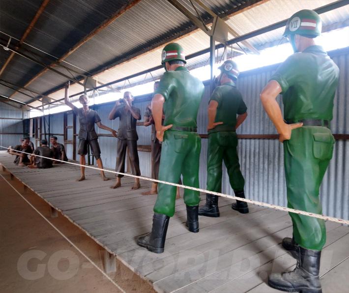 кокосовая тюрьма на Фукуоке Вьетнам