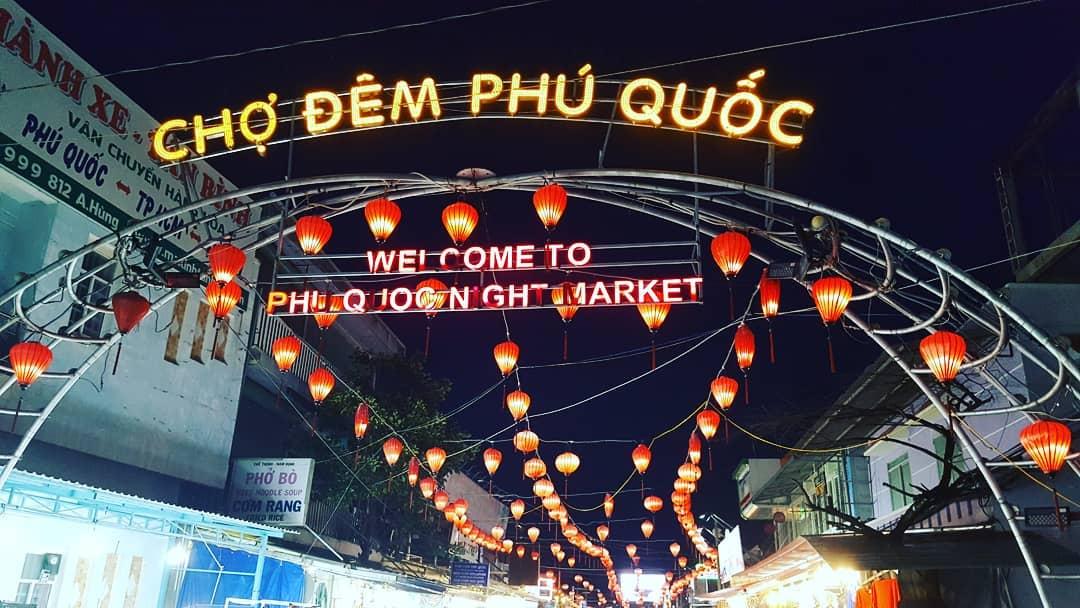 Ночной рынок на Фукуоке