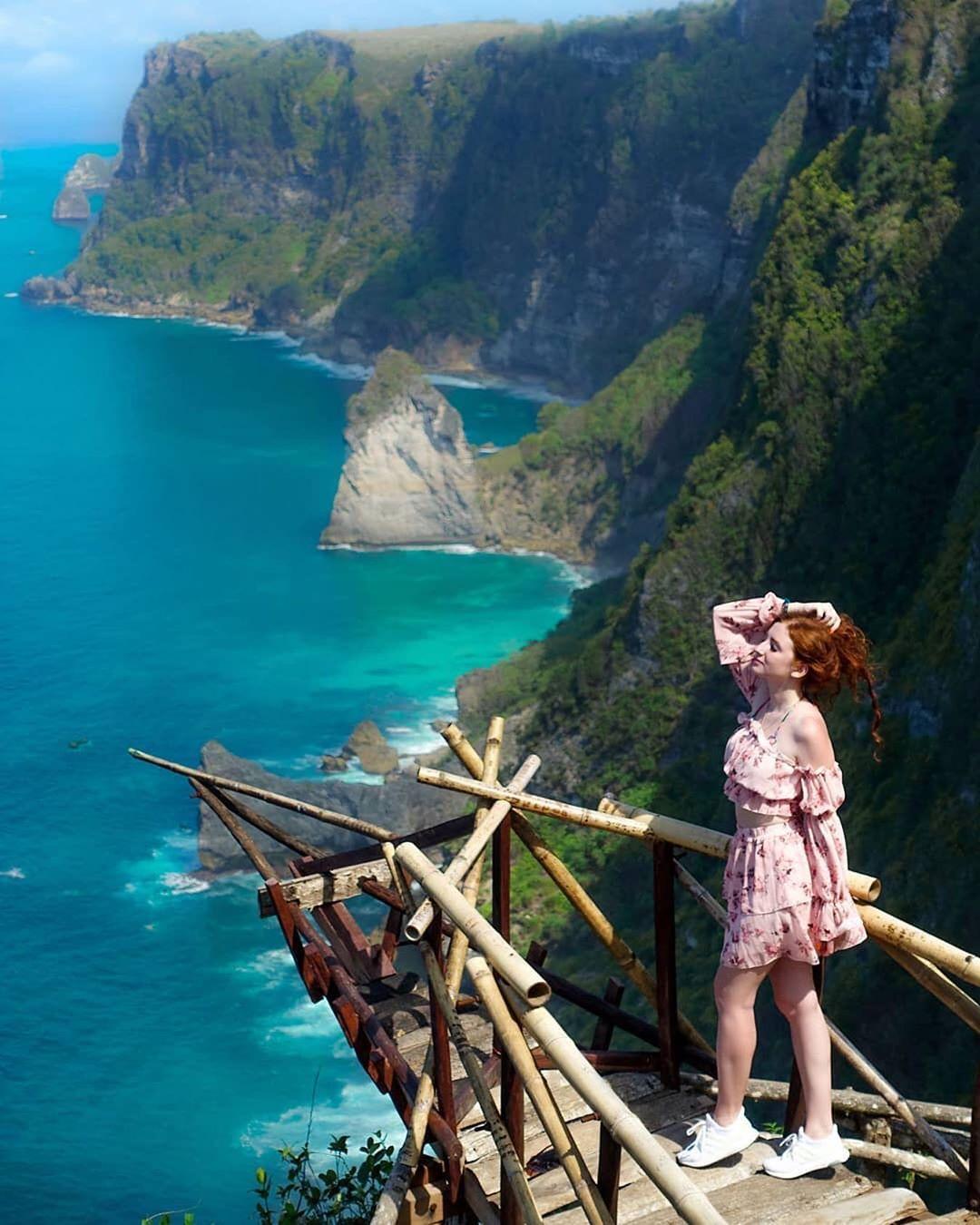Аня на Бали