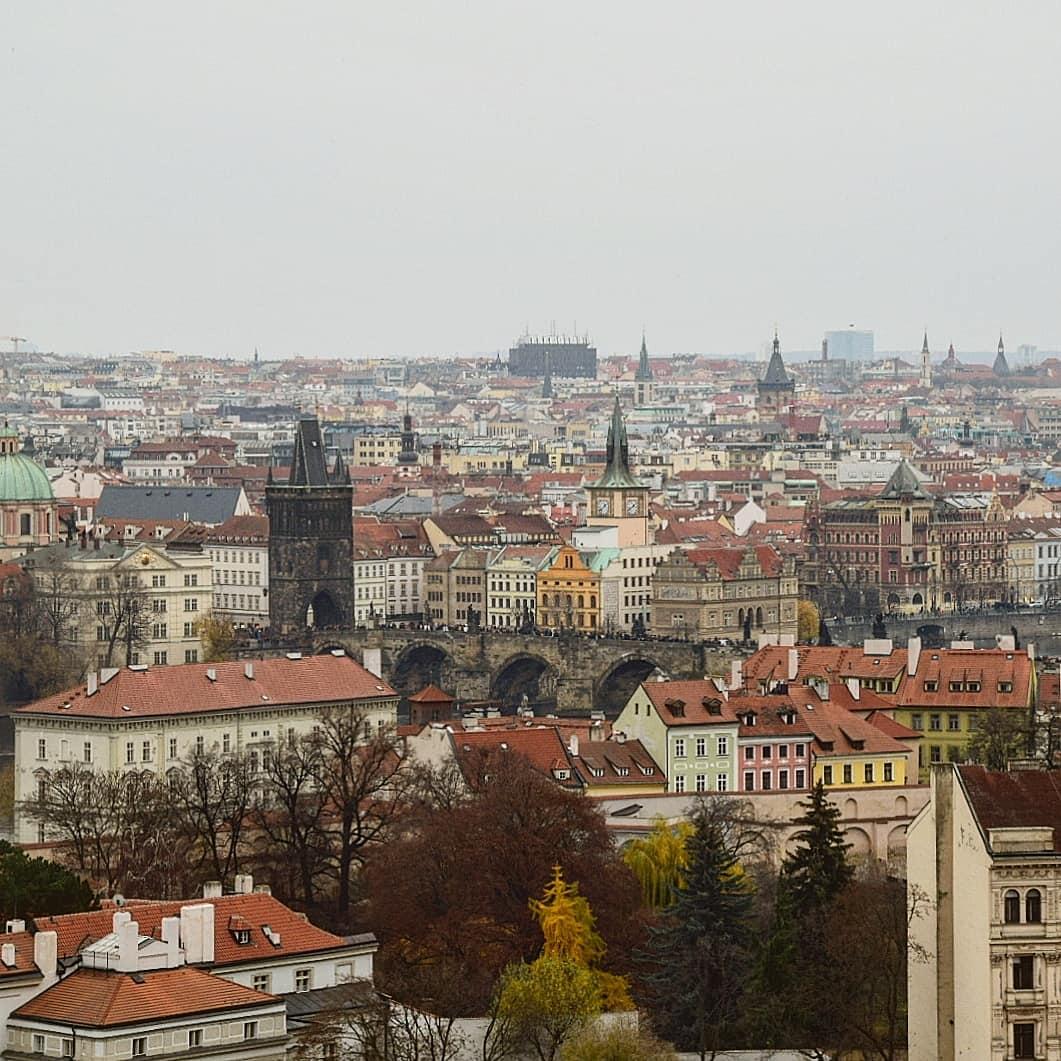 Лучшие смотровые площадки Праги
