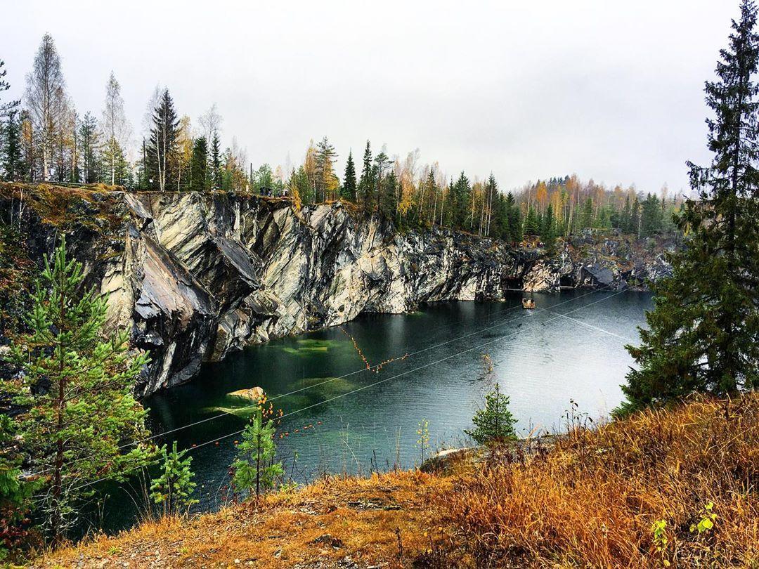 Горный парк Рускеала - фото, цены и время работы