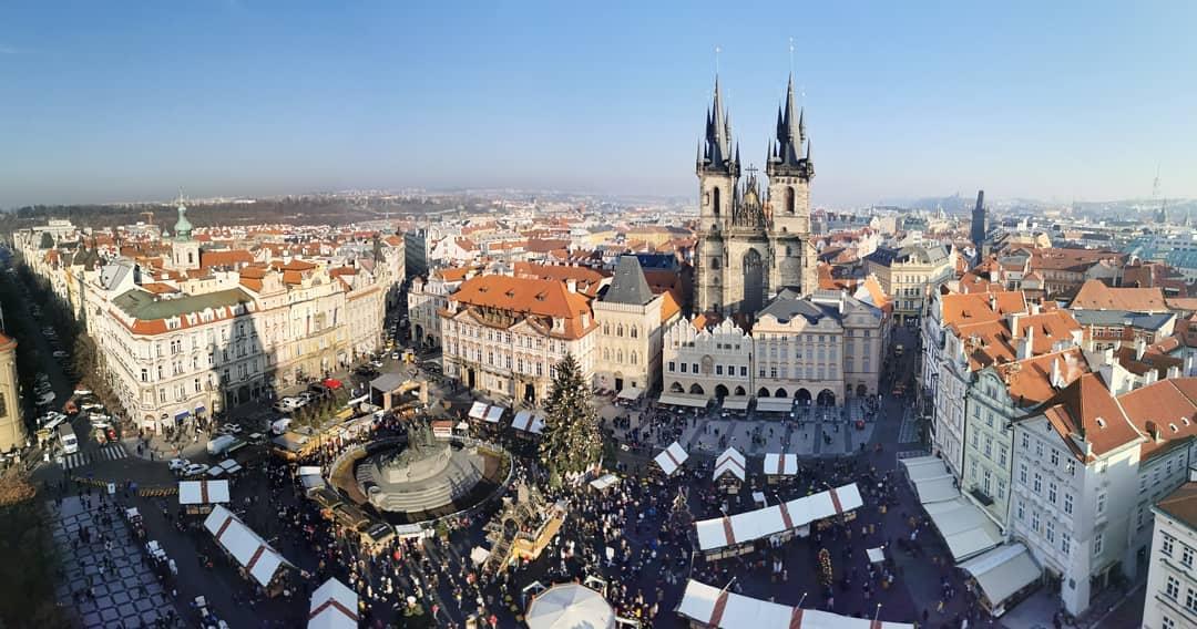 Как отмечают новый год в Чехии
