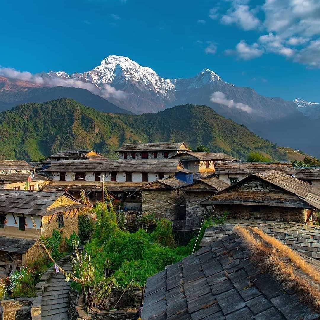 Восхождение в горы в Непале